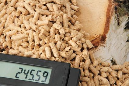 Holzpellets sind im Dezember teurer geworden